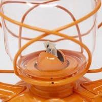 Feuerhand Storm Lantern - Orange - The original German Lantern and the best.